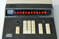 Tischrechner Canon Canola 1200 von 1969