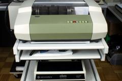 Druckerwagen mit 3 Nadeldruckern