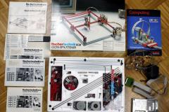Plotter von fischertechnik computing von 1986