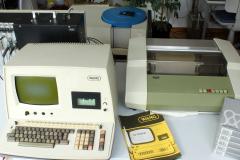 WANG-System eines Statikers von 1975