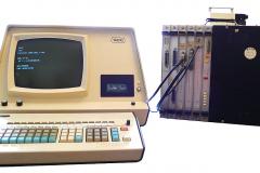 WANG 2200-B8 mit 2215+2216+2217 von 1974