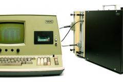 WANG 2200-T4 mit Konsole 2220 von 1975