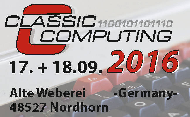 Classic Computing 17.+18.09.2016 in Nordhorn